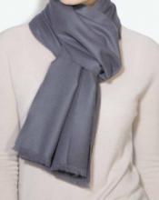 стильный шарф 100% шерсть мериноса,  расцветка Найтшейд Nightshade , средняя плотность 4