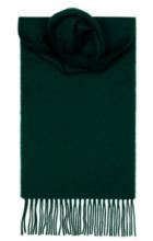 шарф 100% шерсть , расцветка Малахит BOTTLE GREEN PLAIN COLOURED